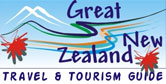 Travel, tourism and other information for travellers to New Zealand. Accomodation, activities, attractions, transportation, general information and more links easily searchable.