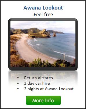 Awana Lookout - Go Great Barrier Island