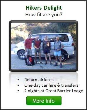 Hikers Delight Package - Great Barrier Island