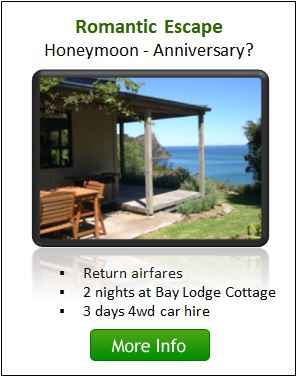 The Bay Lodge Cottage Package - Great Barrier Island
