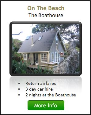 The Boathouse Package - Great Barrier Island