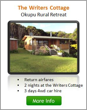 The Writers Cottage Package - Great Barrier Island