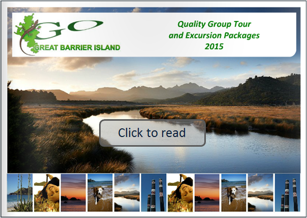 Great Barrier Island Tour Brochure