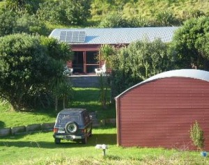 The Red Barn House - Great Barrier Island