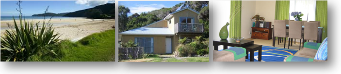 Hibiscus Beach House - Great Barrier Island