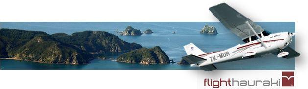Flight Hauraki - Great Barrier Island Flights