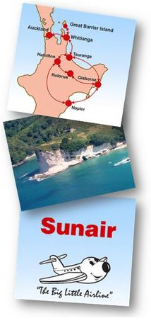 Gt BARRIER - Sunair flights