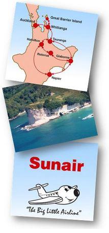 Gt BARRIER - Sunair flights