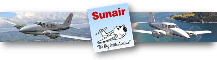 Sunair - Great Barrier Island flights