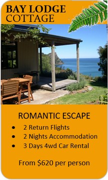 Click here for the Bay Lodge Cottage Romantic Escape Package...