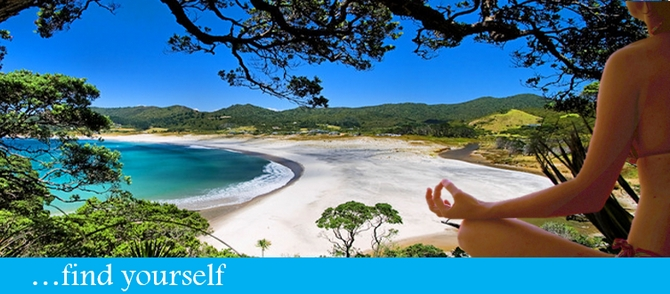 b Find your self - Great Barrier Island