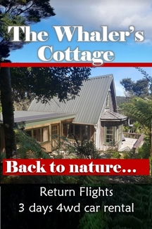 Click here for the Whalers Cottage - All inclusive holiday package